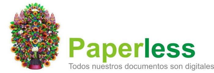 Paperless promocional